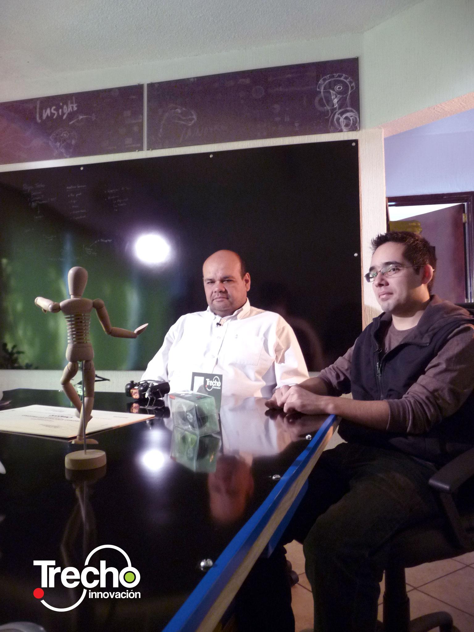 José Manuel Torner, director de Diseño y Ergonomía aplicada y Luis Bermúdez, Director Estratégico en Trecho innovación, forman parte del equipo del proyecto Kali.