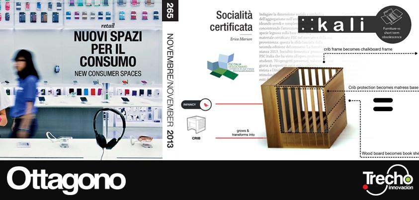 Publicación de proyecto Kali en la Revista Italiana OTTAGONO
